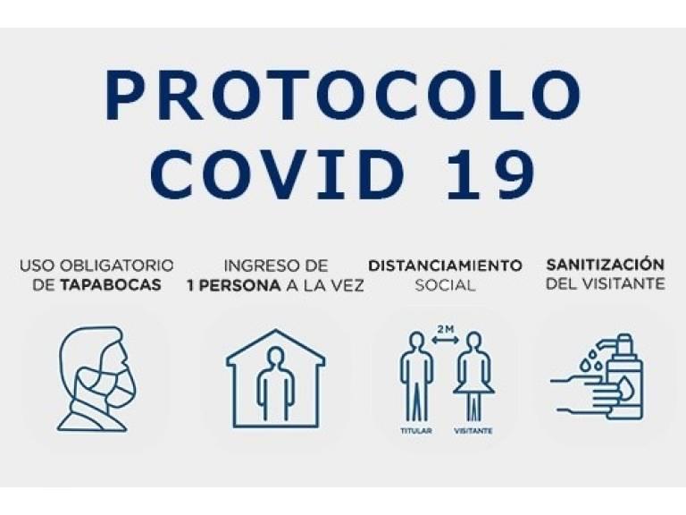 PROTOCOLO DE VISITAS COVID 19